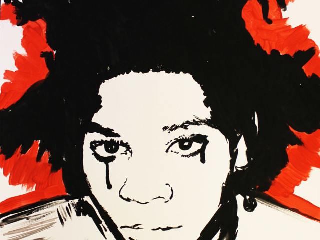Jean-Michel Basquiat Crying